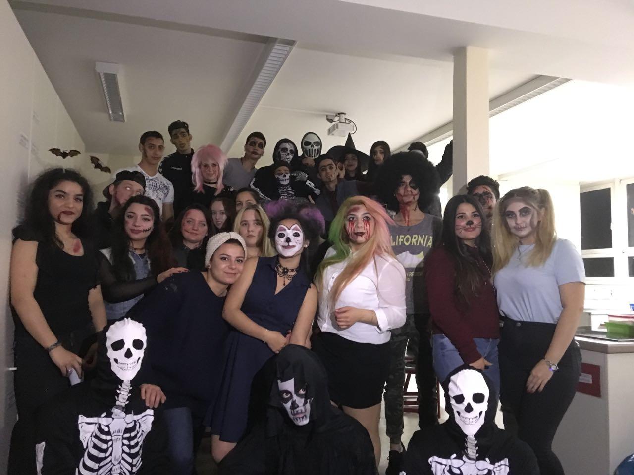 Halloweenparty In Den Berufseinstiegsklassen Bbsii