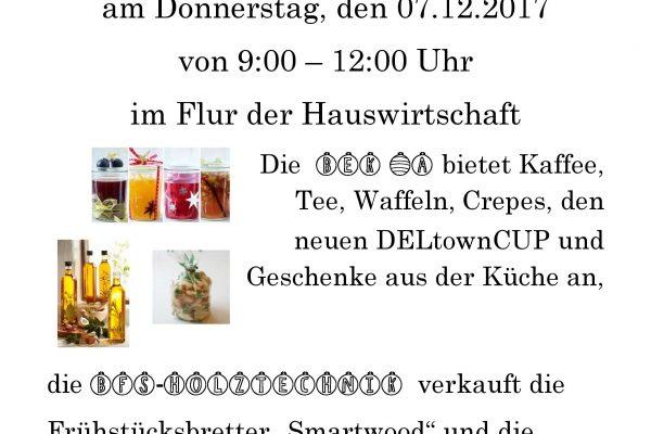 Weihnachtscafé in der Kerschensteiner-Schule