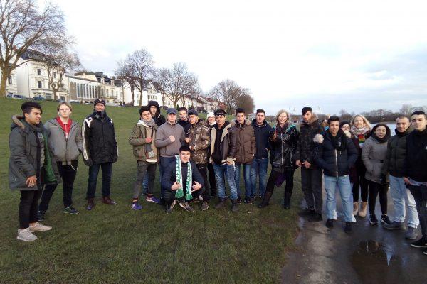 Berufseinstiegsschule im Weserstadion