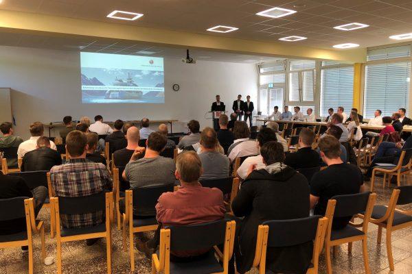 Technikerschule präsentiert Projekte