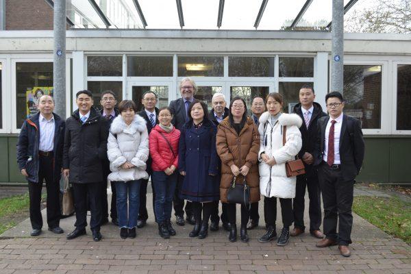 Professoren und Pädagogen aus China zu Gast