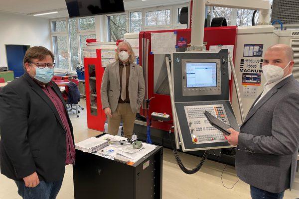 BBS II Kerschensteiner-Schule Delmenhorst wird zum Innovations- und Zukunftszentrum Robotik
